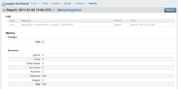 Puppet Dashboard / Reports – Ubuntu | Sebastian Mogilowskis Blog